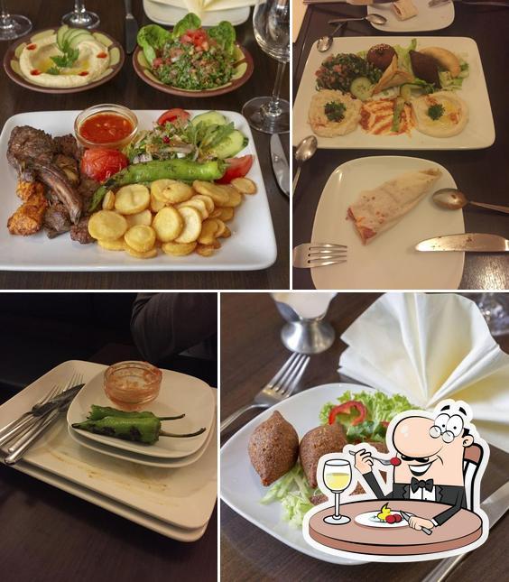 Gerichte im Chateau Kefraya