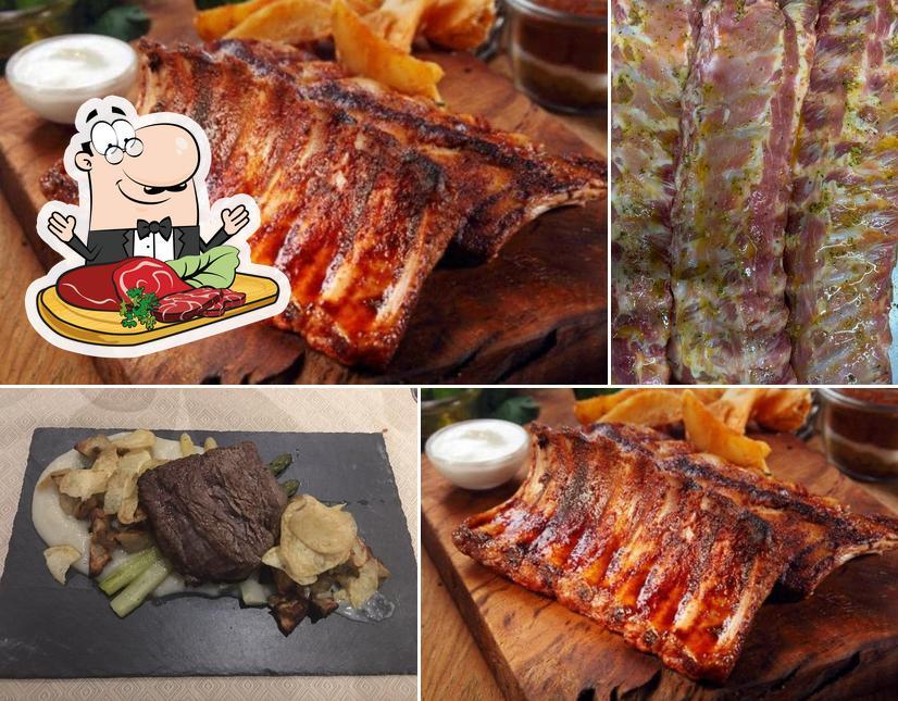 Holt ein Fleischgericht bei Argentino ( L' ) - BREGANZONA