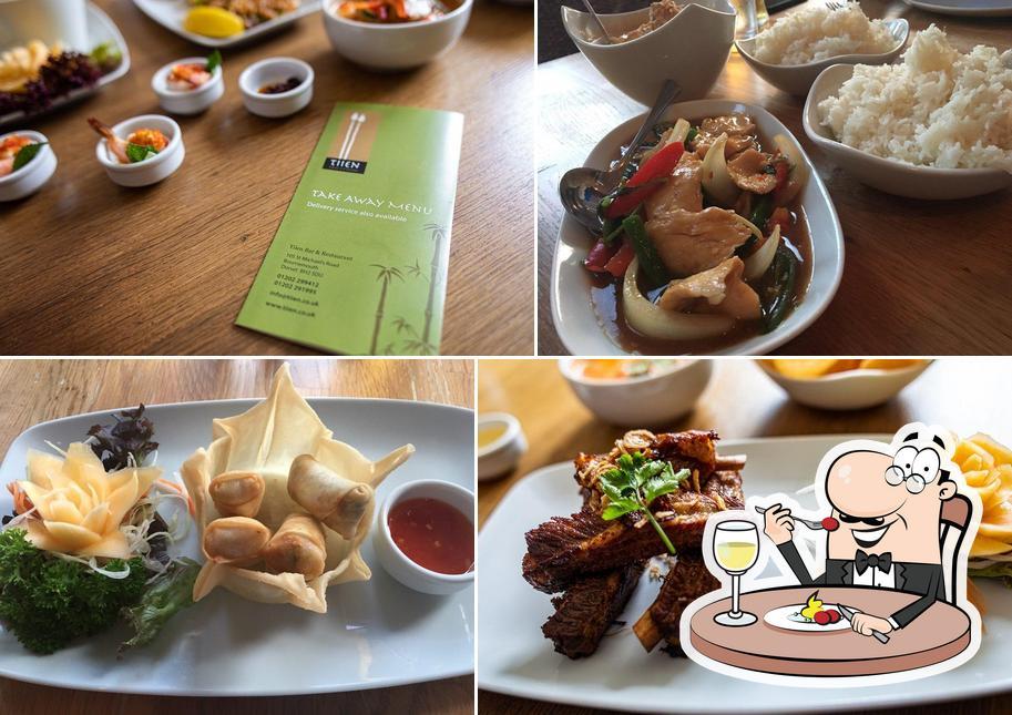 Food at TIIEN THAI