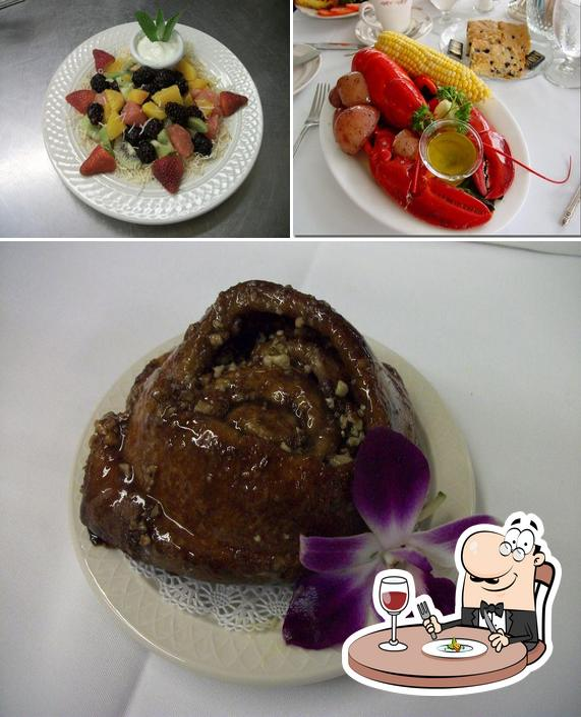 Food at Reading Room Restaurant
