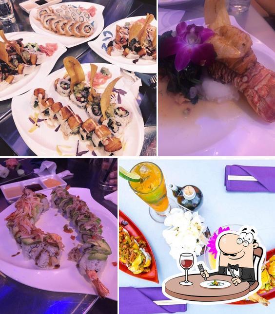 Food at Sushi Mambo