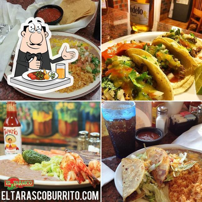 Food at El Tarasco