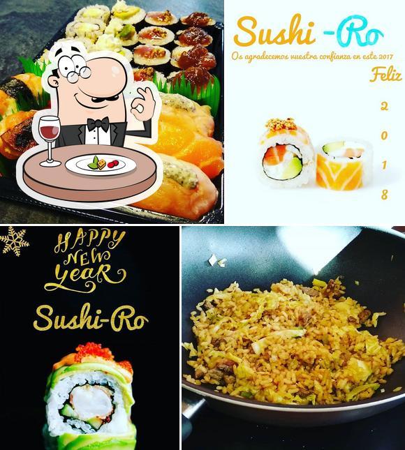 Comida en SUSHI-RO