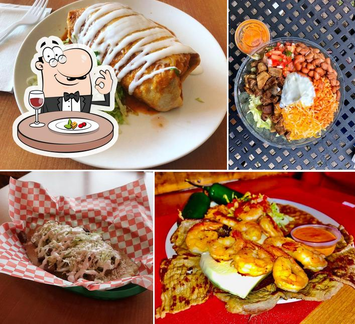 Food at Brothers Taqueria