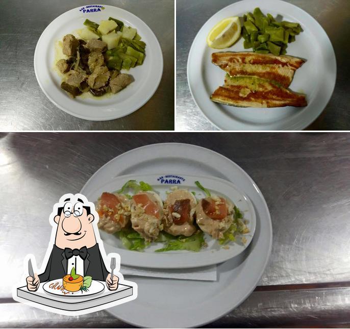 """Блюда в """"Restaurante Parra"""""""