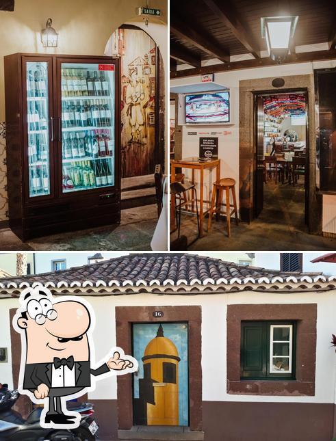 O interior do Restaurante Arsénio's