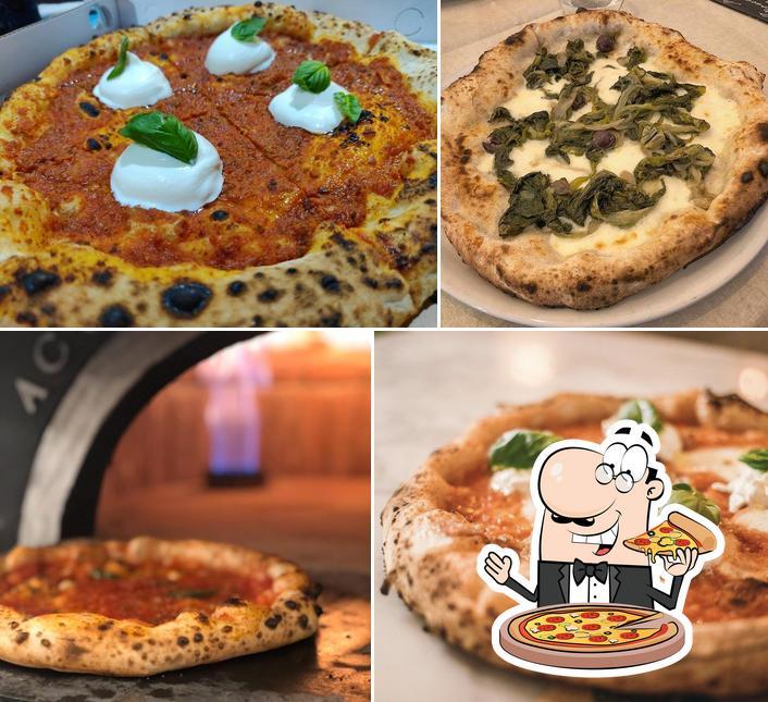 Ordina tra le molte varianti di pizza