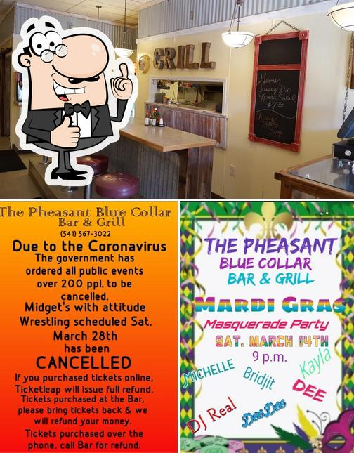 See the photo of The Pheasant Blue Collar Bar & Grill