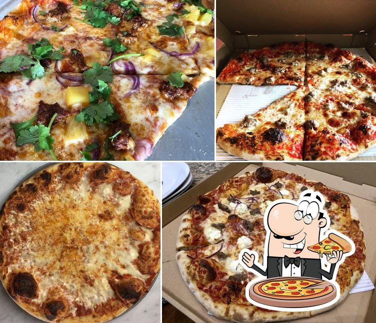 Order various variants of pizza