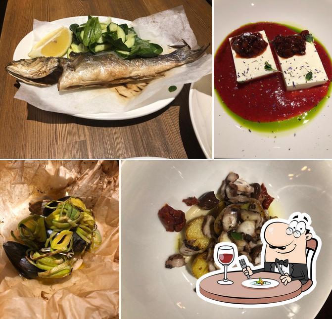 Food at Osteria Mario
