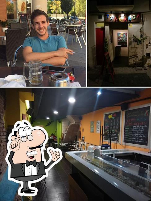El interior de Txaranga Cafe Teatre