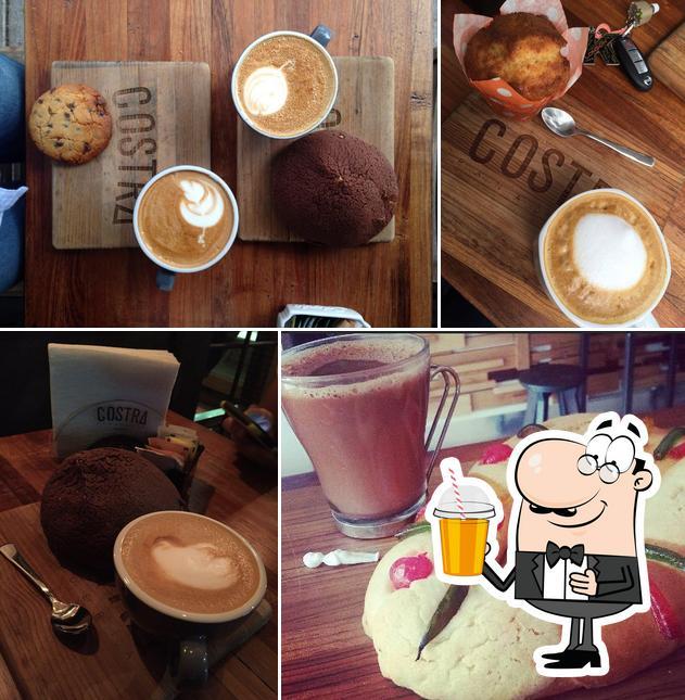 Enjoy a drink at Costra