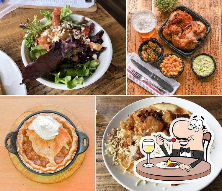 Food at Revolution Rotisserie Pleasant Ridge