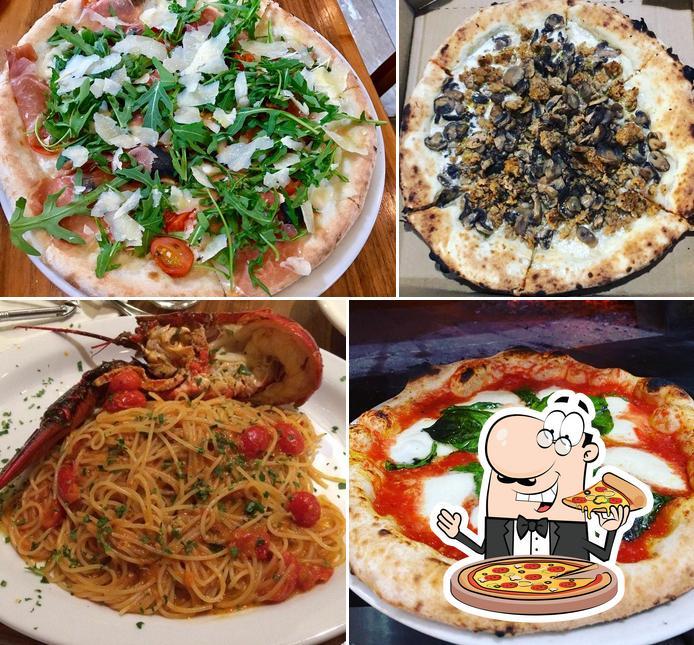 Get pizza at VIA UNO Cucina Italiana & Bar