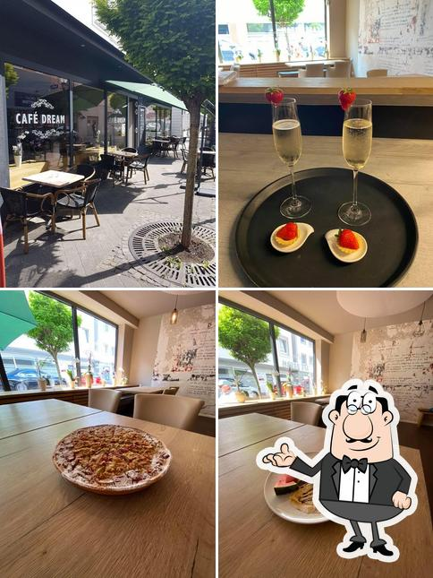El interior de Café Dream