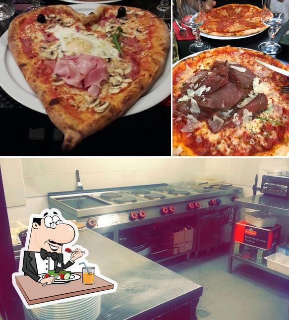 Jetez un coup d'oeil à l'image indiquant la nourriture et intérieur concernant Trattoria Di Gio
