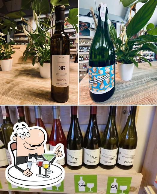 Krako Slow Wines sirve alcohol