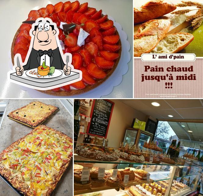 Nourriture à Boulangerie L'ami d'pain
