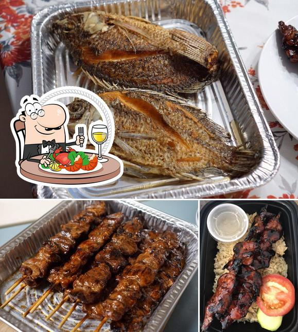 Order seafood at Zul Cafe and Grill