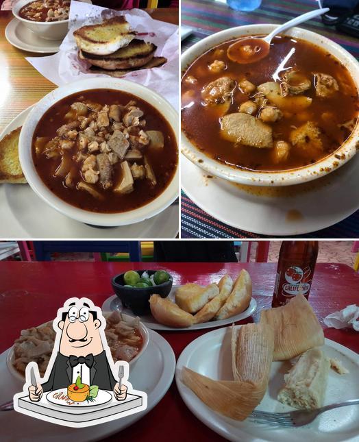 Food at La Choza