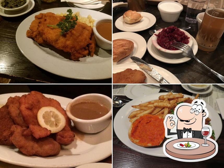 Food at Bavarian Lodge