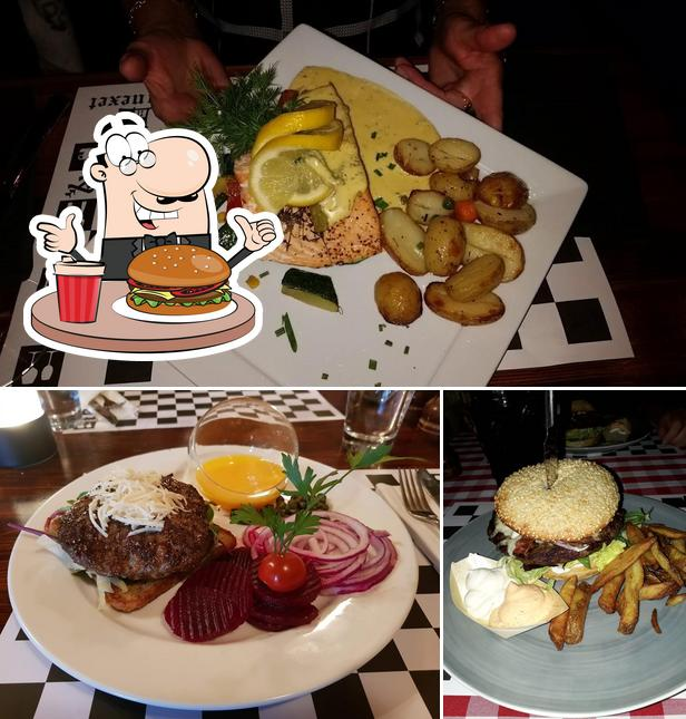 Try out a burger at Little Italy, Annexet