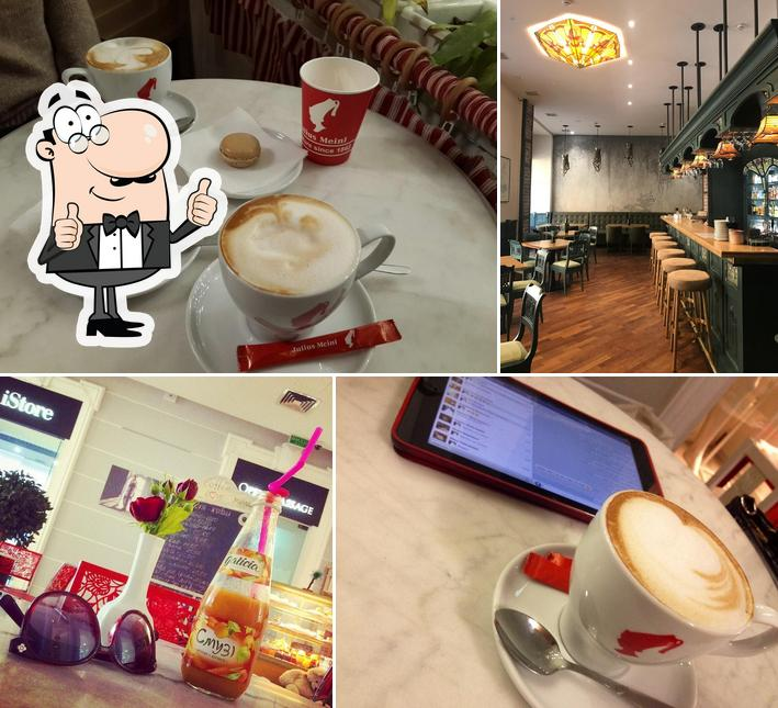 Look at the pic of Opera Passage Cafe