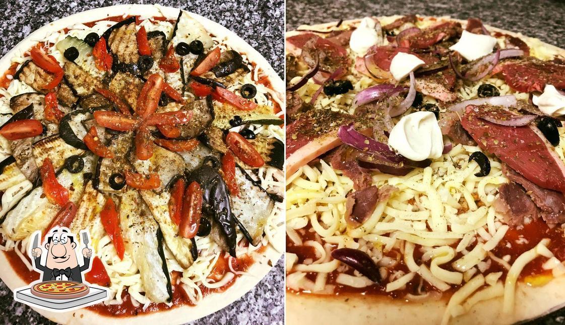 Commandez différents types de pizzas