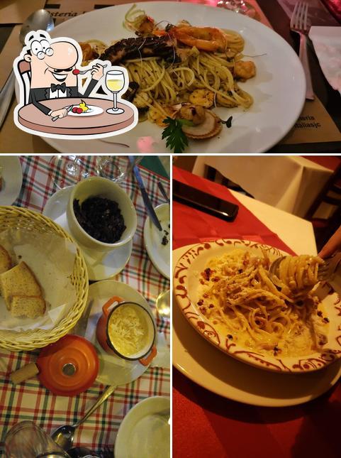 Comida em Osteria Itália