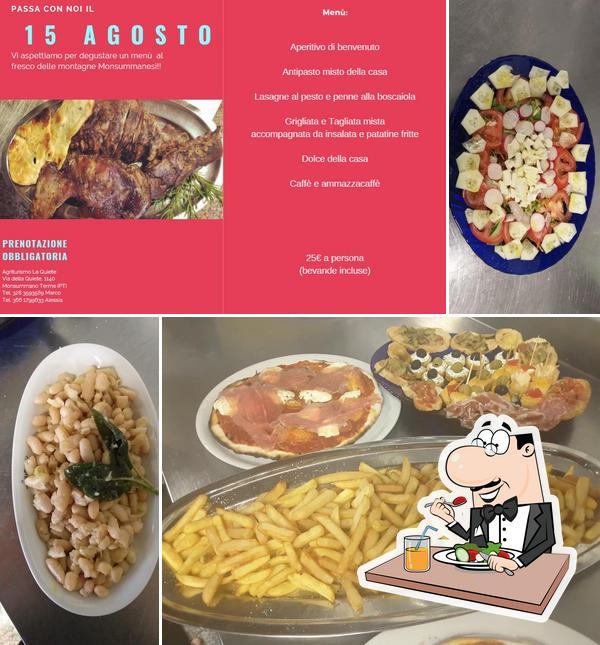 Essen im La Quiete Di Zeni Marco
