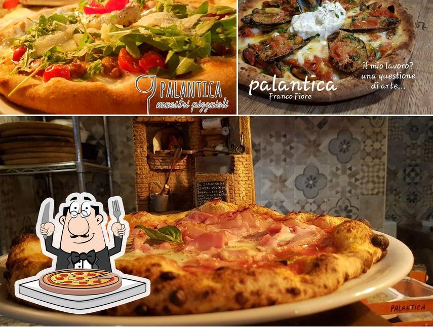 Prenditi tra le molte varianti di pizza