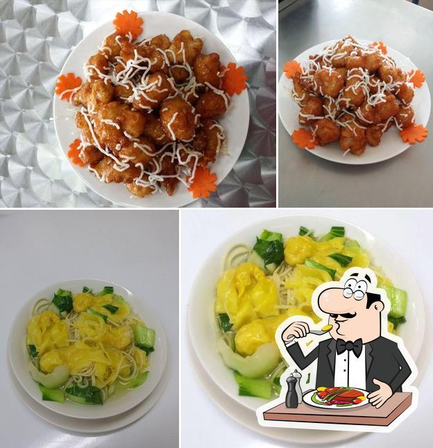 Food at Xing Long Asian Takeaway