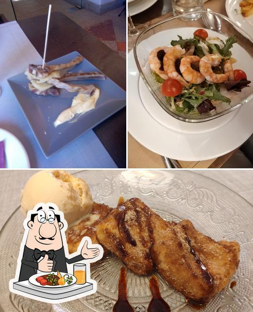 Food at Tapería Yuste