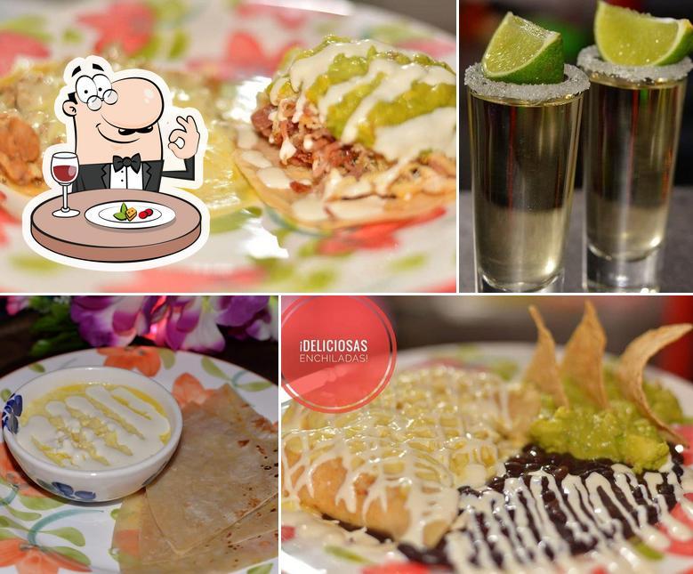 Food at Zacatecas Restaurante Mexicano
