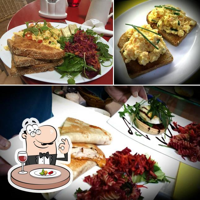 Food at Short Quay Cafe
