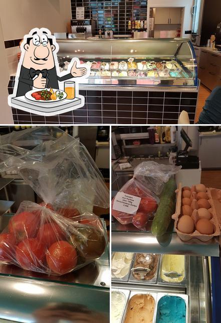 Essen im Werners Eiscafé