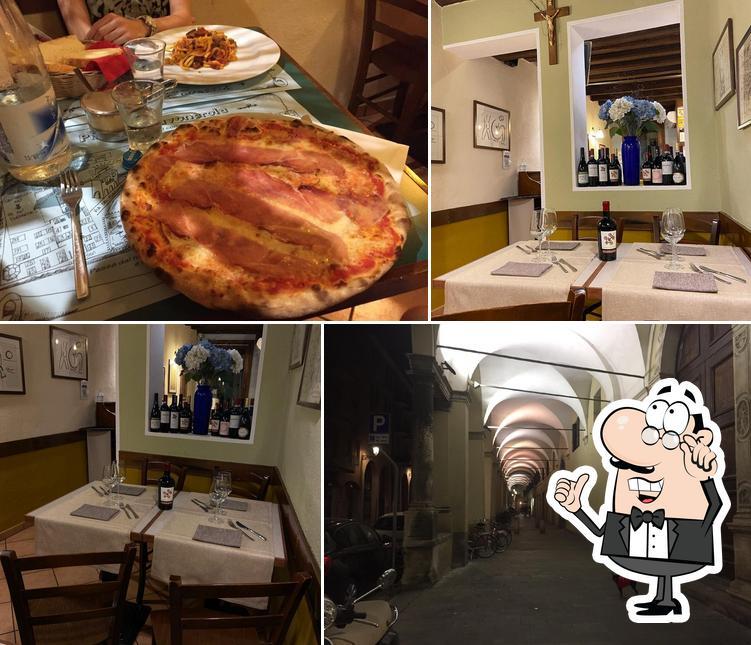 Gli interni di Pizzeria Savonarola