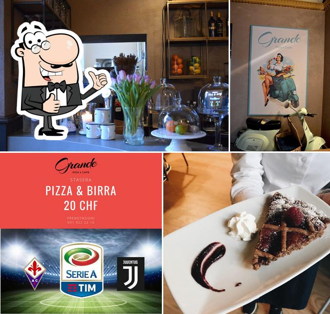 Look at the pic of Grande Pizza & Caffe