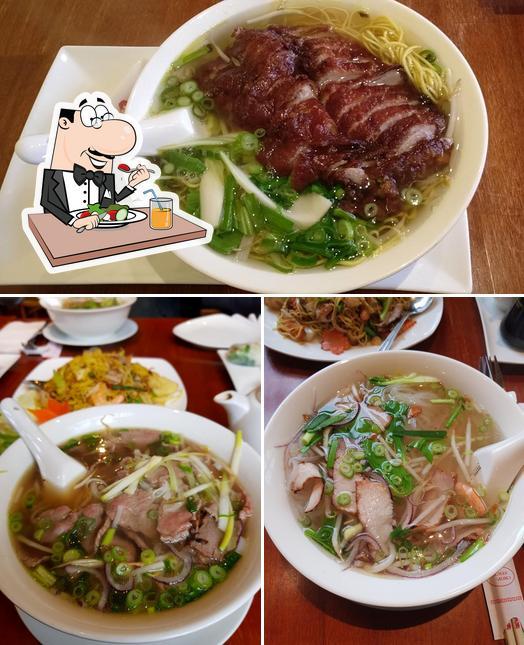 Food at Mai Vien
