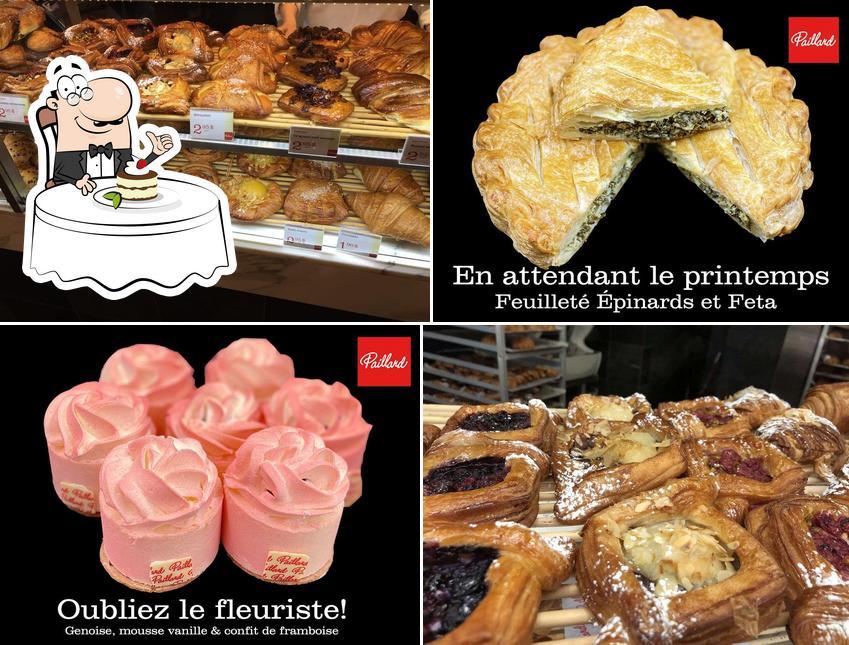 Paillard offre une éventail de desserts