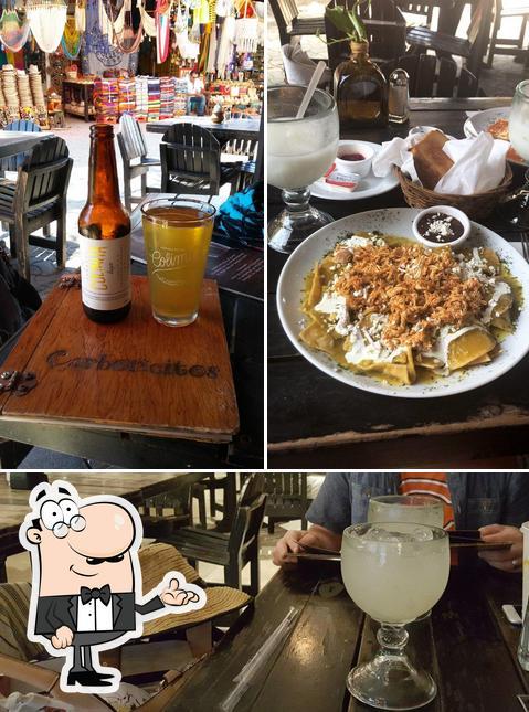"""Интерьер """"Carboncitos - Mexican Restaurant in Playa del Carmen"""""""