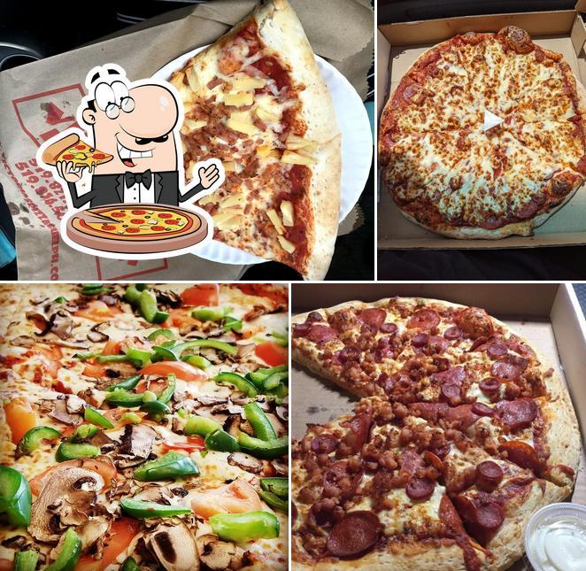Order pizza at Victoria's Pizza
