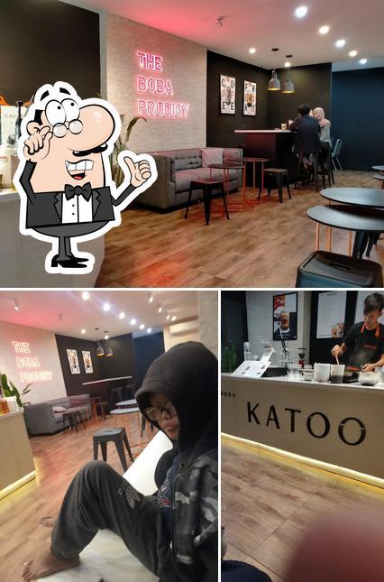 El interior de Katoo Boba Bar Pandesan