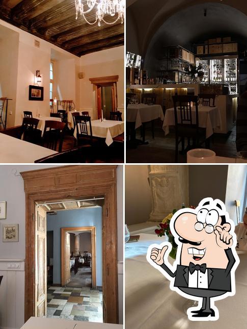 El interior de Farina Restaurant