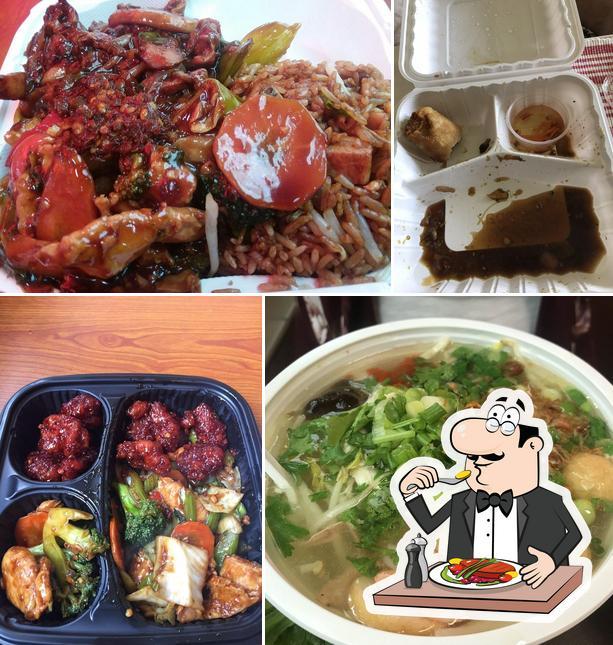 Meals at Skyway Wok