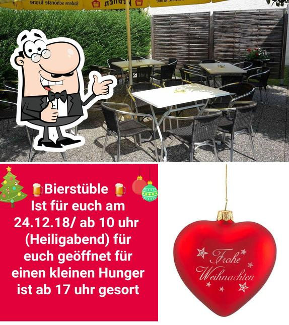See this photo of Bierstüble