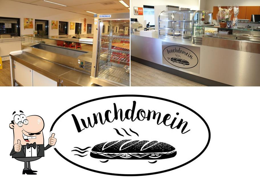 Look at the pic of Lunchdomein