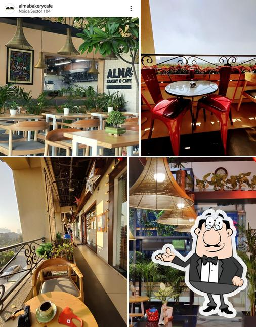 Check out how Alma Bakery and Cafe looks inside