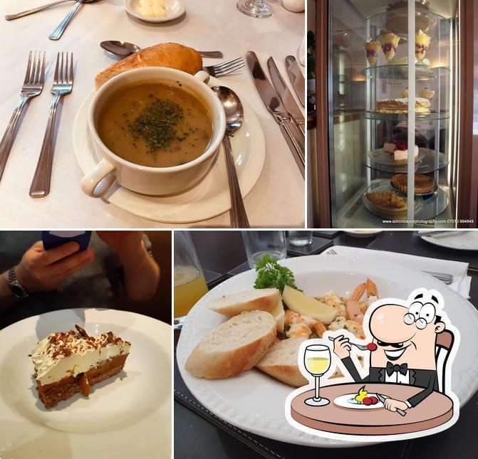 Food at Bates Restaurant