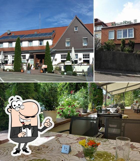 The exterior of Restaurant Schillerhöhe